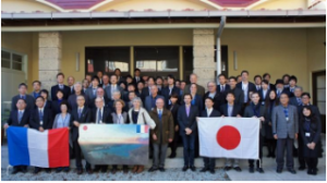 photo de groupe à Shiogama pour le colloque de 2015
